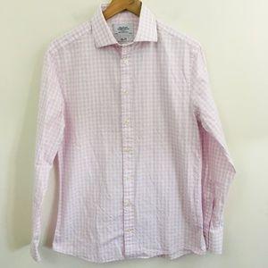 Charles Tyrwhitt Checkered Button Down Dress Shirt
